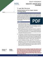 Visa vs Mastercard - Oppenheimer - April 2012