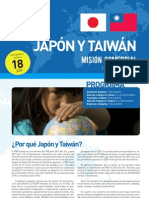 Convocatoria Misión Comercial Japón y Taiwán octubre 2012