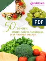 50 de Retete Pentru o Dieta Sanatoasa