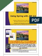 JSF2 Using Spring