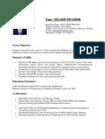 CV FOR DEWA