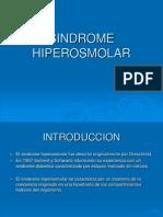 SINDROME HIPEROSMOLAR