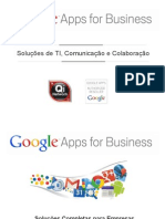 Apresentação Google Apps for Business - Qi Network