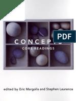 Margolis, e. & Laurence, s. Concepts - Core Readings