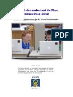 Rapport de rendement du CAHM - juin2012