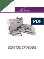 Metrodata Solutions Catalogue