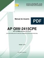 Oiw 2415cpe Manual