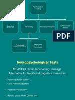 Psychopathology_Neuro PERSONALITY Testing