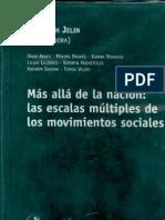 La dimensión trasnacional de los movimientos sociales-Sikkink