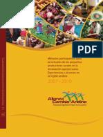 Metodos participativos para la inclusion de los pequenos productores rurales en la innovacion agropecuaria