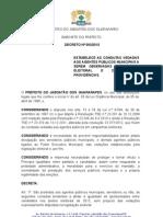 Decreto Eleições 2012 Jaboatão
