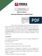 Edital nº 008-2012 - CPM