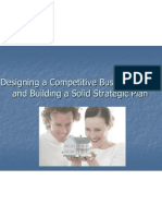 Designing a Competitive Business Model and Building A