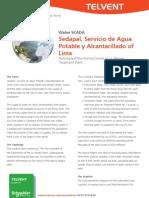 Sedapal Servicio de Agua Potable y Alcantarillado of Lima