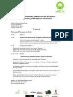 2o Foro local por la Defensa de Wirikuta; significados, problemáticas y alternativas
