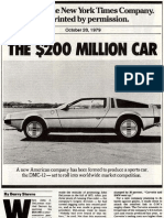 1979-2005 DeLorean Articles