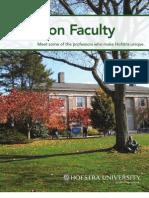 Focus on Faculty