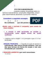 PERÍODO COMPOSTO AULA