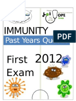 Immuno First _ Past Years Qs