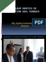 ALBUM GRÁFICO DE GESTIÓN UGEL HUÁNUCO