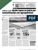 Glifosato, Clarín y La Nación
