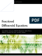 FractionalDifferential Equations