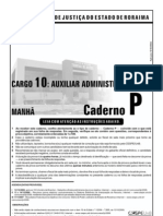 Www.cespe.unb.Br Concursos Antigos 2006 TJRR2006 Arquivos TJRR 010 16