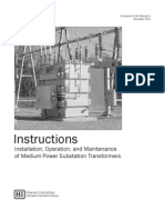 Medium Power Substation Instruction Manual