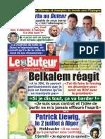 LE BUTEUR PDF du 27/06/2012