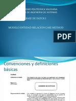 Modelo Entidad Relacion Case Method