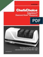 Chef's Choice EdgeSelect 120 Manual