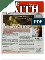 EXTREME FAITH - Message Notes