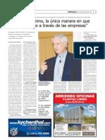 Robert Kaplan-Artículo Diario Financiero