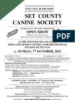 Dorset Oct 12