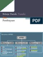 Belanja Daerah Dan Pembiayaan
