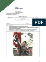 Guía II, análisis de afiche, regimen totalitario nazi