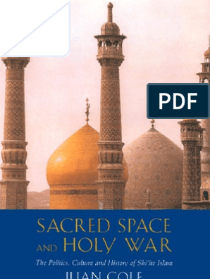 Sacred Space and Holy War_UP_History pdf   Shia Islam