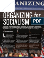 Organizing for Socialism, by Matthew Vadum (Townhall Magazine, December 2009)
