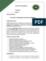 software para administrar el sistema de gestión ambiental