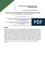 Comportamento da carbonatação em vigas pré-moldadas de concreto (Sao Carlos)