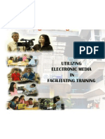 Utilizing Electronic Media in Facilitating Training