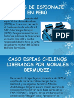 CASOS DE ESPIONAJE EN PERÚ