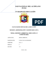 Gestion Ambiental Grupo 2