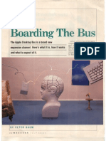 Portfolio 870700 Douglas Hopkins Studio Photo Tear Macuser Mag Boarding the Bus Apple Desktop Bus Surreal Illustration
