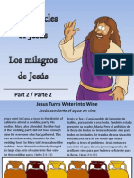 Los Milagros de Jesús - Miracles of Jesus - part 2