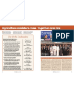 RT Vol. 6, No. 1 Agriculture ministers come together over rice