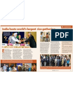RT Vol. 6, No. 1 India hosts world's largest rice gathering