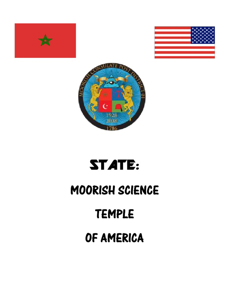 State: Moorish Science Temple of America Booklet | Trust Law | Deed