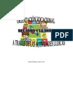 orientación vocacional y las actividades lúdicas1