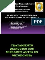 Cirugia Con Microimplantes